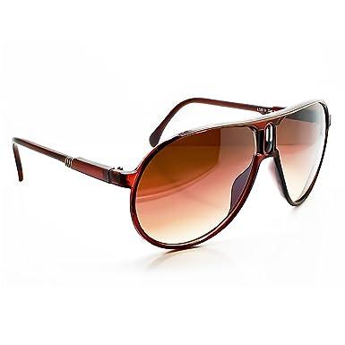 38268e9176 Sunglasses KISS - mod. SCARFACE Cult Movie - man woman AL PACINO Style  vintage - BROWN  Amazon.co.uk  Clothing