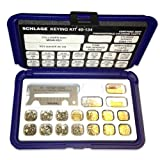 Schlage 40-134 Pin Kit with Snap-Tight Plastic Box