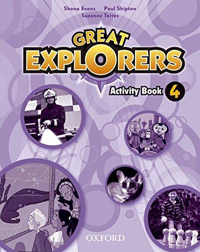 Great Explorers 4: Activity Book – 9780194507608