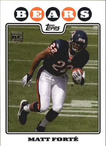 2008 Topps Football Rookie Card #356 Matt Forte Near Mint/Mint
