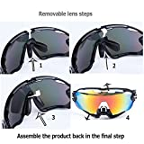 HTTOAR Sports Sunglasses with 3 Interchangeable