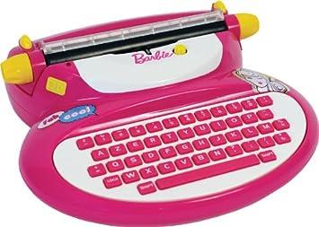 Mehano- Barbie máquina de Escribir de Juguete (E118BA)