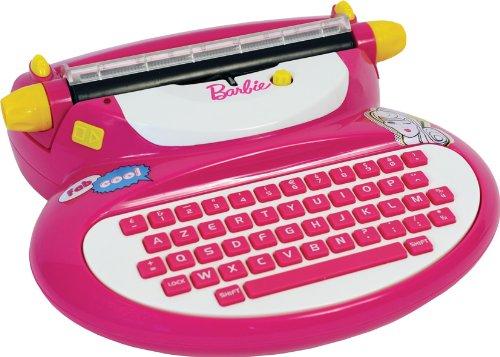 Mehano - E118BA - Machine à écrire Barbie électronique E117BA Jeu Electronique