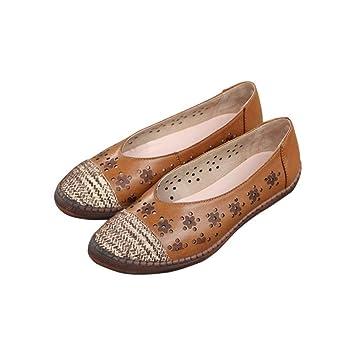 Caoutchouc Femmes Sole Chaussures En Soft Slip Cuir Sur Télévision MjpzGUVLqS