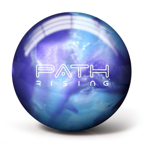 Pyramid Path Rising Pearl Bowling Ball (Purple/Steel Blue, 10lb)