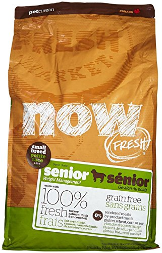 Go! Now Grain Free Small Breed Senior Dog Food - 12Lb