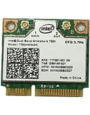 i10Gb Intel Dual Band Wireless-N 7260 2x2 AGN + Bluetooth 4.0 p/n 7260-HMW AN