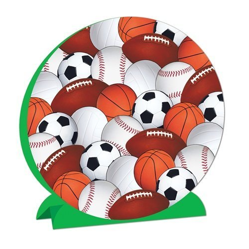 Beistle 57346 3-D Sports Centerpiece - Pack of 12 for $<!--$9.99-->