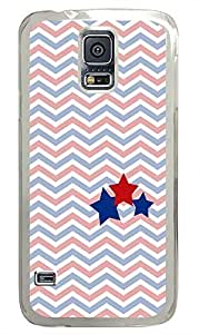 top Samsung S5 cover Stars Chevrons PC Transparent Custom Samsung Galaxy S5 Case Cover by supermalls