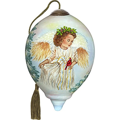 (Ne'Qwa Winter Guardian Angel Ornament)