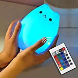 Cat Lamp, NeoJoy Remote Control Silicone Kitty
