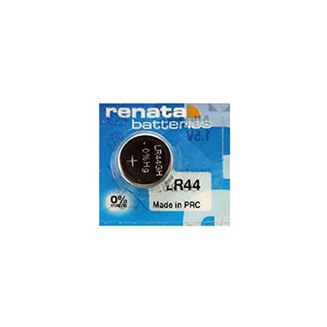 Paquete 4 x Renata LR44 fabricada en Suiza 1,5 V batería ...