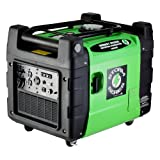 Lifan Energy Storm ESI 3600iER 3600 Watt 270cc 4-Stroke OHV Gas Powered Portable Inverter Generator with Remote Start/Stop Key Fob and Portability Kit with Wheel Locks