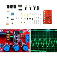 DIY XR2206 Function Signal Generator Kit Sine Triangle Square Output 1HZ-1MHZ