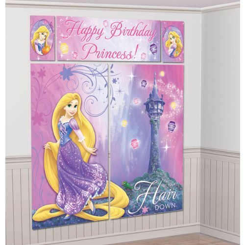 Wall Decoration Kit : Tangled sparkle giant setter wall decorating kit