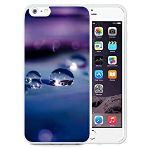 New Beautiful Custom Designed Cover Case For iPhone 6 Plus 5.5 Inch With Water Drops Macro Depth Of Field (2) Phone Case