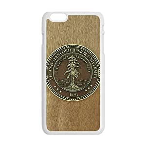 """Durable Platic Case Cover for iPhone6 4.7""""-Stanford University Pattern Printed Cell Phones Shell"""