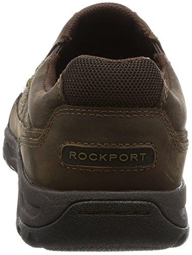 Rockport Trail Technique Waterproof Slip On, Ciabatte Uomo Marrone (Dark Brown)