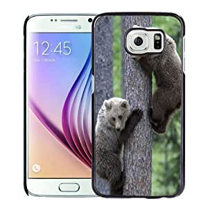 New Personalized Custom Designed For Samsung Galaxy S6 Phone Case For Bears On The Tree Phone Case Cover Kimberly Kurzendoerfer
