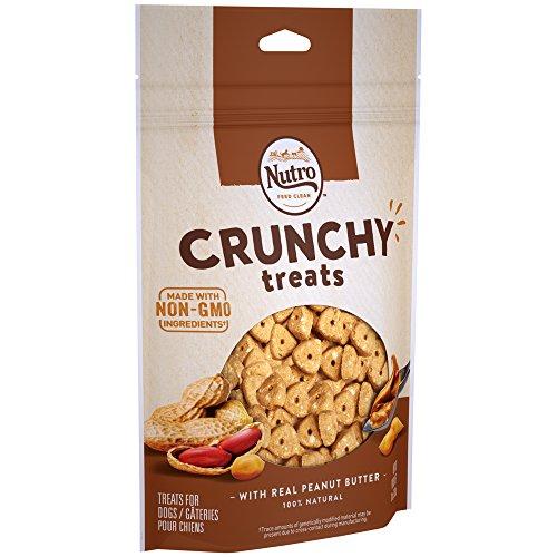 Nutro Crunchy Dog Treats With Real Peanut Butter, 10 Oz. Bag ()