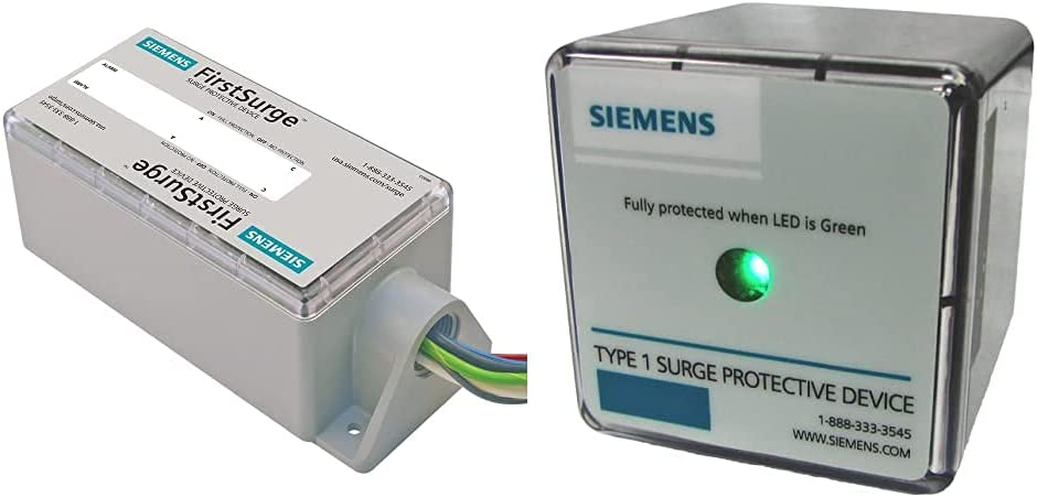 Siemens FS140 Whole House Surge Protection & TPS3A03050 120/240 Type 1 Split Phase Surge Protective Device Lightning Arrester Replacement