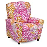 Liv Kid's Recliner Color: Pink