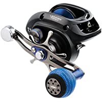 "Daiwa LEXA-WN400PWR-P Lexa Type WN Casting Reel, 400, 5.1: Gear Ratio, 27.10"" Retrieve Rate, 25 lb Max Drag, Right Hand, Clam"