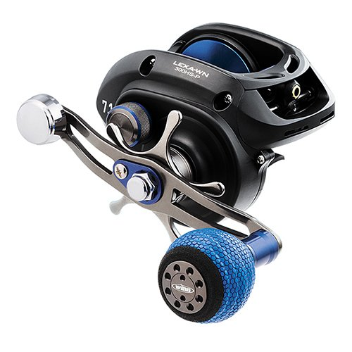 Cheap Daiwa LEXA-WN400PWR-P Lexa Type WN Casting Reel, 400, 5.1: Gear Ratio, 27.10″ Retrieve Rate, 25 lb Max Drag, Right Hand, Clam