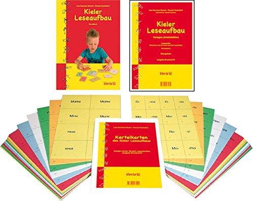 Kieler Leseaufbau. Gesamtausgabe C: Handbuch, Vorlagen, Wörter- und Spielekartei (ungeschnitten)