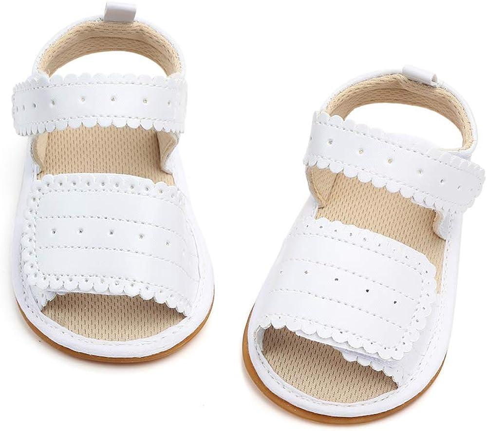Sandalias Beb/é Ni/ña Verano Zapatos Reci/én Nacido Plano Casual Comodas Goma Antideslizante