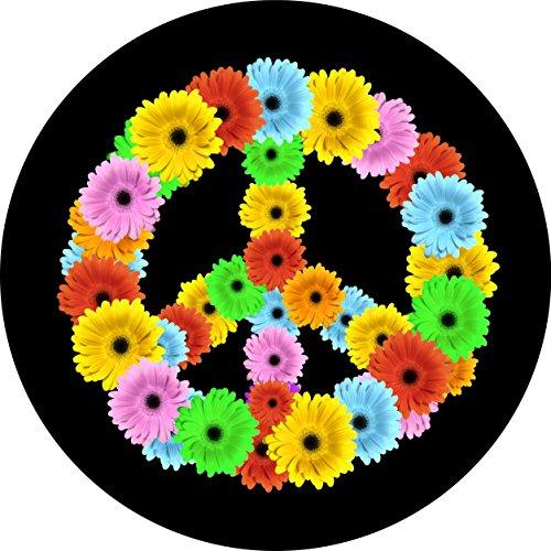 tire cover flower - 9