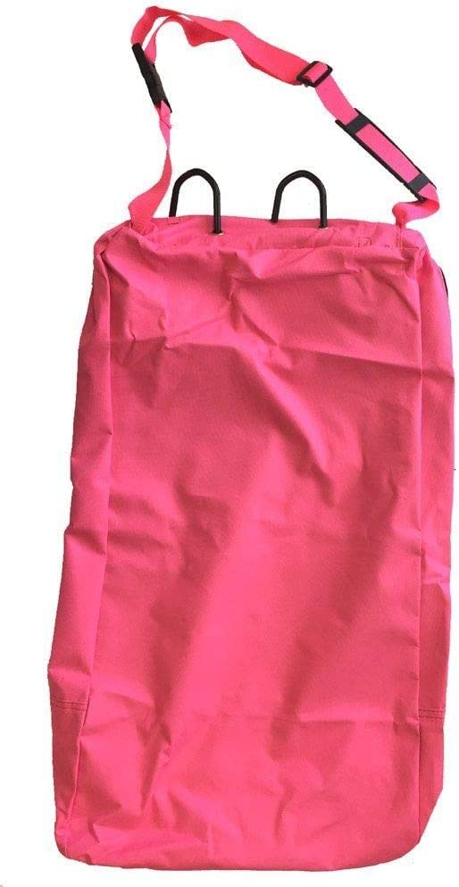 Deluxe Bridle Halter Tote Bag with Removable Tack Rack Pink