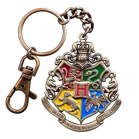 Oficial de Harry Potter Hogwarts Crest Diecast Metal Llavero ...
