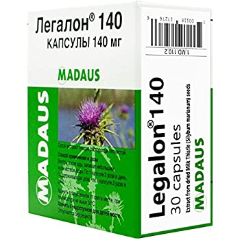 Amazon.com: LEGALON 140 mg Hígado Apoyo, Cleanse & detox ...