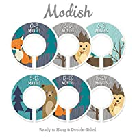 Modish Labels Baby Nursery Closet Dividers, Closet Organizers, Nursery Decor,...
