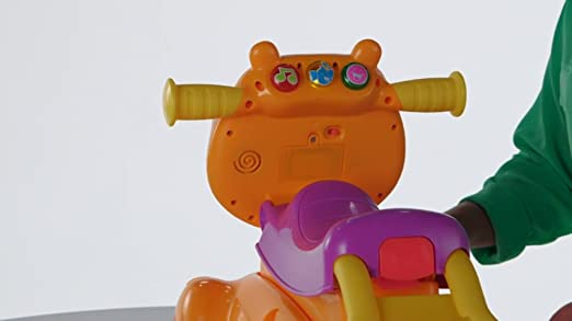 Amazon.com: Playskool Rock, Ride n Stride hipopótamo: Toys ...