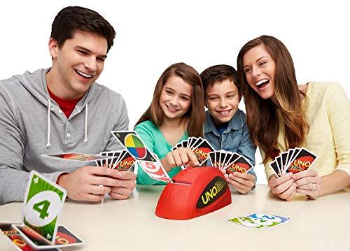 Mattel Games V9364 - UNO Extreme Kartenspiel, geeignet für 2 - 10 Spieler, Spieldauer ca. 15 Minuten, Gesellschaftsspiele und Kartenspiele ab 7 Jahren 2