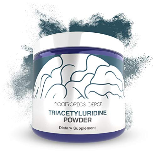 Triacetyluridine Powder | Tau | 25 Grams | Uridine | Nootropic Supplement | Supports Cognition and Memory Enhancement