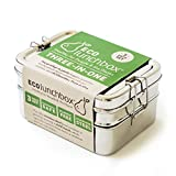 ECOlunchbox Three-In-One Stainless Food Canister & Lunch Box, Regular Size