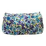 Vera Bradley Large Duffel Bag (Blueberry Blooms)
