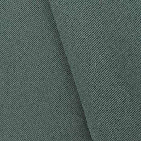 Fossil traje de sarga de algodón gris, tela por el patio: Amazon.es ...