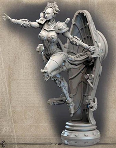 Amazon com: Science Fiction Miniatures 75mm Kabuki Models Lady
