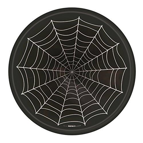Halloween Party Supplies Spider Web Melamine Tray