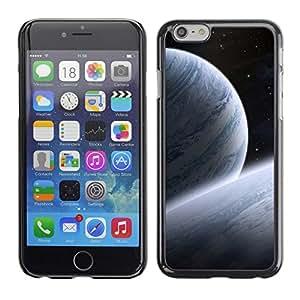 TopCaseStore / la caja del caucho duro de la cubierta de protección de la piel - Space Planet Galaxy Stars 30 - Apple iPhone 6