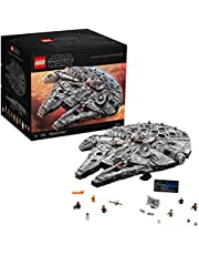 LEGO Star Wars Ultimate Millennium Falcon 75192 Expert Building Kit and Starship Model, Best Gift and Movie Collectible for Adults