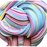 Fluffy Slime,Fluffy Floam Slime Stress Relief Toy Scented Sludge Toys 3 Colors
