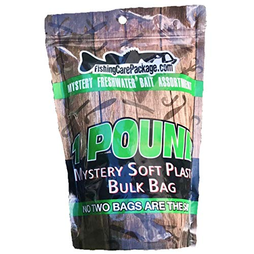 One Pound Packages - Fishing Care Package 1LB Bulk Bait Bag