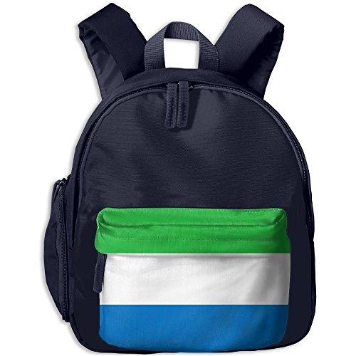 Fengyaojianzhu Flag Of Sierra Leone Fashion School Book Bag Travel Student Backpack For Toddler Kids Girls - Ukraine Girls In Singapore