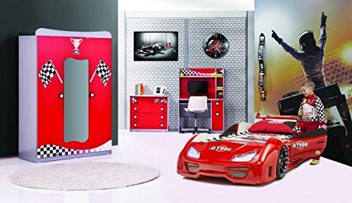 Kinderzimmer GT 999 4-tlg in rot von Möbel-Zeit