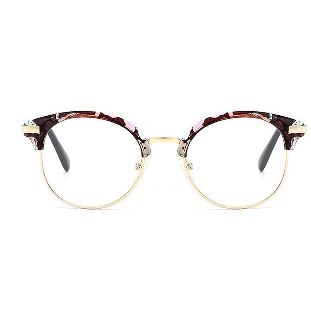 Elegantes gafas de sol Protección redondas con semi-sin montura para ...